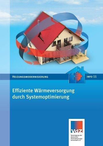 Effiziente Wärmeversorgung durch Systemoptimierung
