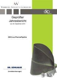 pharmapipeline - Dr. Kohlhase