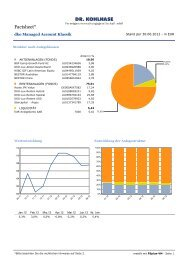 Factsheet Juni 2012 - Dr. Kohlhase