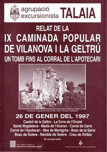 3?:T?33fi,t,TALAIA - Biblioteca del Centre Excursionista de Catalunya