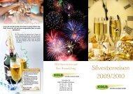 Silvesterreisen 2009/2010 - bei Kolb-Reisen