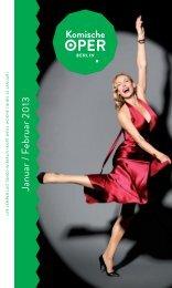 Heft als PDF (18 MB) - Komische Oper Berlin