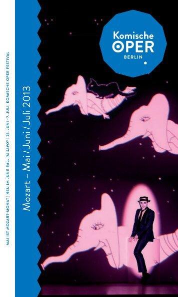 Heft als PDF - Komische Oper Berlin