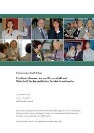 Exzellente Kooperation von Wissenschaft und Wirtschaft für den ...