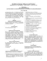 Verordnung über die Berufsausbildung zum Fachverkäufer im ...