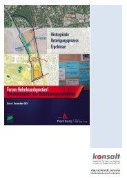 Dokumentation des Beteiligungsverfahrens , Stand ... - Hamburg