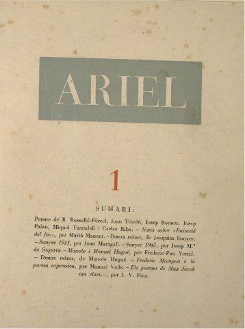 POEMES de B. Rosselló-Pòrcel, Joan Triadú, Josep Romeu, Josep ...