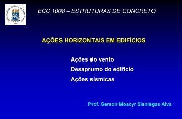 ECC 1008 – ESTRUTURAS DE CONCRETO AÇÕES ... - UFSM