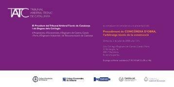 Targetó Invitació a la Presentació (PDF) - TATC