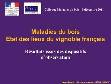 Colloque Maladies du bois - Institut Francais de la Vigne et du Vin