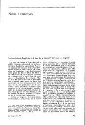 La interferencia lingüística i el fons de la qüer;tió,* per Joan A ... - Raco