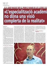 El P. JosEP Massot rEP El PrEMi d'Honor dE lEs llEtrEs CatalanEs
