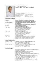 Prof. Dr. Klaus-Peter Jünemann - Deutsche Kontinenz Gesellschaft