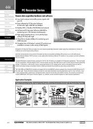 PC Recorder Series - M-System