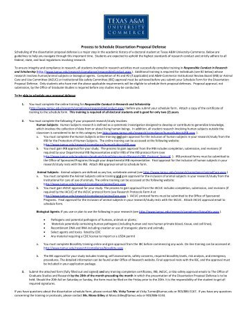 university of texas dissertation proposal The university of texas school of public health at houston  approval of the  scientific integrity of both the dissertation proposal and the final dissertation iii.