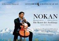 Presseheft NOKAN - Kool Film