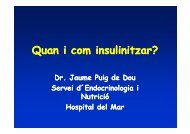 Quan i com insulinitzar?