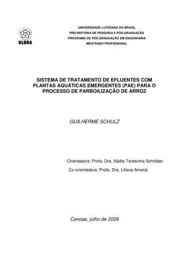 Tratamento de Efluentes com Plantas Aquáticas ... - Bioma Pampa