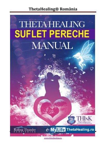 Manualul SUFLETE PERECHE - ThetaHealing® România