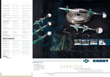 cordipar 4675.1-3 - Kordt GmbH and Co.