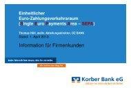 Vortragsfolien zum Nachlesen (als pdf-Datei) - Korber Bank eG