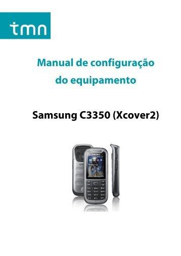 Manual de configuração do equipamento Samsung C3350 ... - TMN