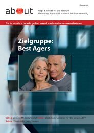 about - Zielgruppe: Best Agers (PDF mit 1510 KB - A.b.media gmbh