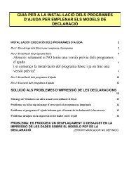 GUIA PER A LA INSTAL·LACIÓ DELS PROGRAMES D ... - e-Tributs