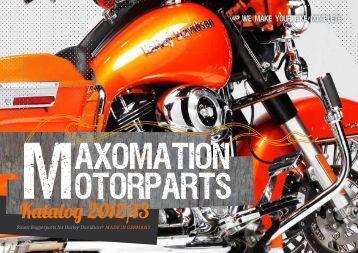 MAXOMATION MOTORPARTS - Katalog 2012/13