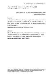 JAILSON MARCOS: QUANDO A CULTURA VIRA CALÇADO Justo ...