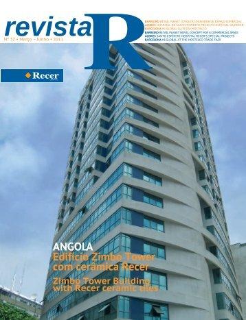 Edifício Zimbo Tower com cerâmica Recer ANGOLA