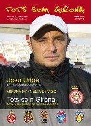 Josu Uribe Tots som Girona Josu Uribe Tots som Girona - girona fc