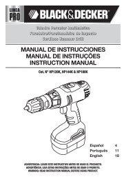 Manual de Instrucciones MODELO 7910 Manual de instruções