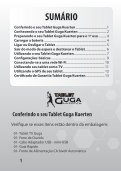 Utilizando o seu Tablet Guga Kuerten - IlhaService - Page 2