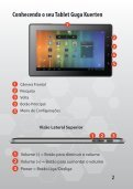 Utilizando o seu Tablet Guga Kuerten - IlhaService - Page 3