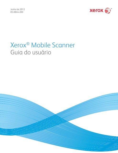 Xerox User Guide - Scanners