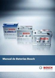 Manual de Baterias Bosch