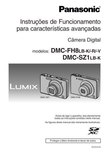 DMC-SZ1LB_avancado.pdf - Panasonic