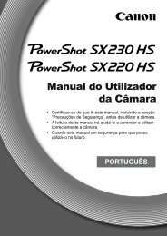 Manual do Utilizador da Câmara