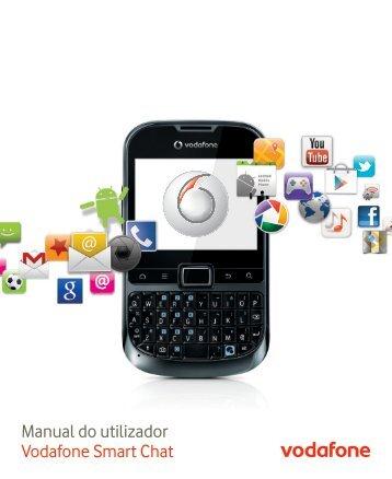 Manual do utilizador Vodafone Smart Chat