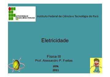 Eletricidade - EXERCICIOS RESOLVIDOS - CAMPO ... - Webnode