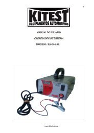 Manual do KA-044-5A - Kitest