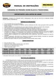 Manual Rossi Dione - Shop da Carabina
