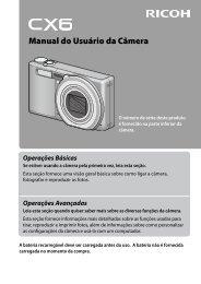 RICOH CX6 Camera User Guide