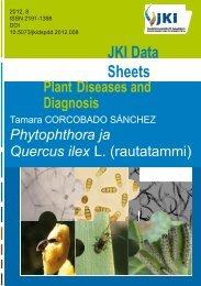 Phytophthora ja rautatammi - Metsäntutkimuslaitos