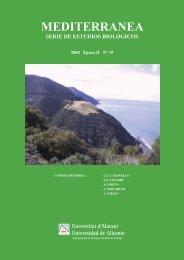 Mediterránea 19 - Publicaciones de la Universidad de Alicante
