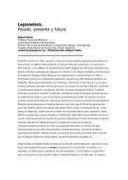 Pasado, presente y futuro de la Legionella - CRESCA