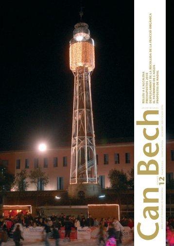 Butlletí municipal Can Bech núm. 12 desembre 2009-gener 2010