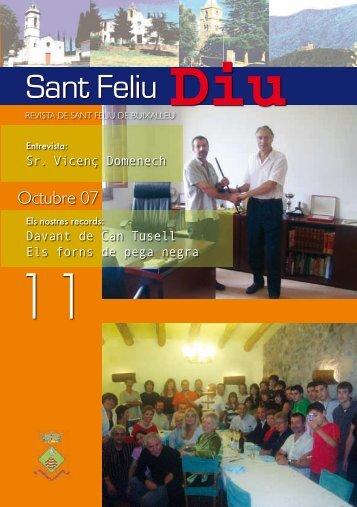Núm. 11, Octubre 2007 - Diputació de Girona