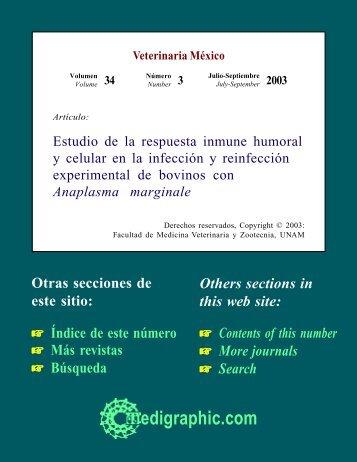 Estudio de la respuesta inmune humoral y celular ... - edigraphic.com